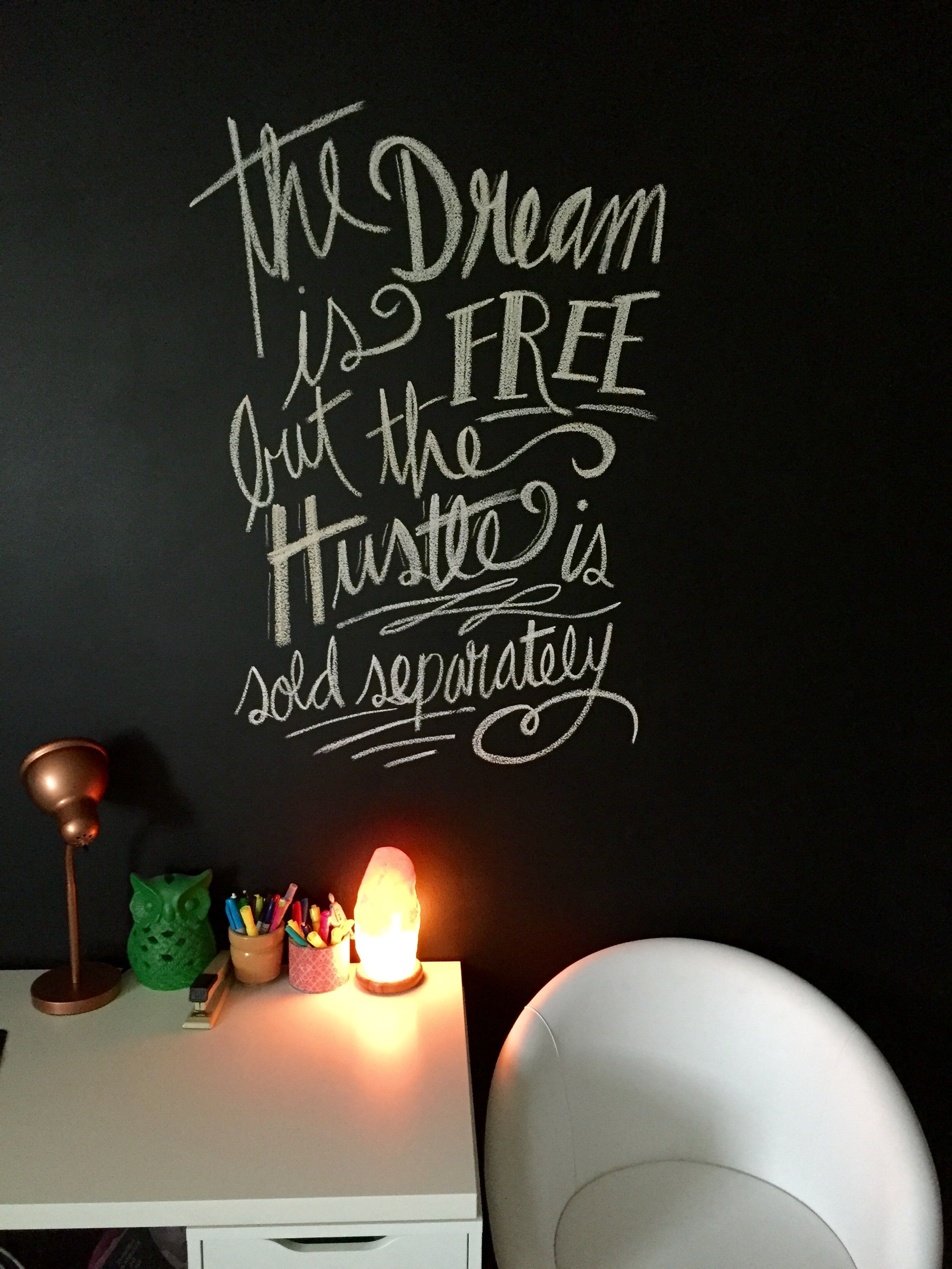 office #chalkboard #wall #decoration #creative #motivational ...