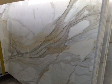 Calacatta Gold Slabs and Tiles - traditional - Kitchen Countertops - New York - Garfield Tile Outlet Inc.
