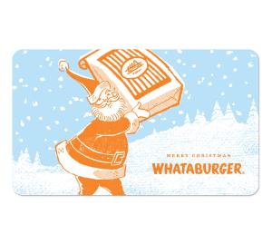 Jack and/or Ryan - Whataburger Gift Card | Stocking Stuffers ...