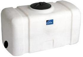 50 Gallon Portable Utility Tanks Stationary Storage Water Tank Water Storage Tanks