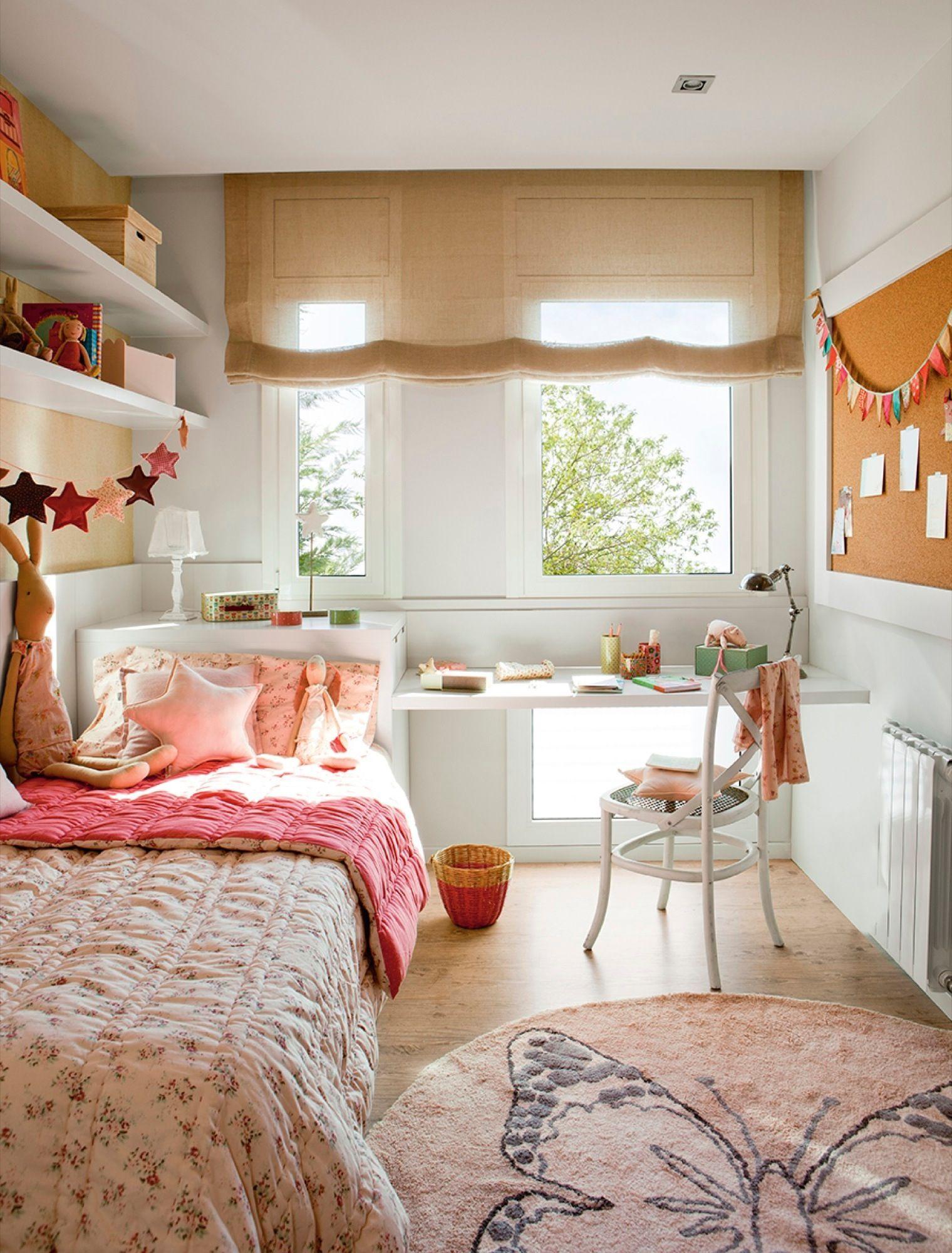 10 ventanas que dan mucho de s hueco aprovechado y ventana - Habitacion pequena nina ...