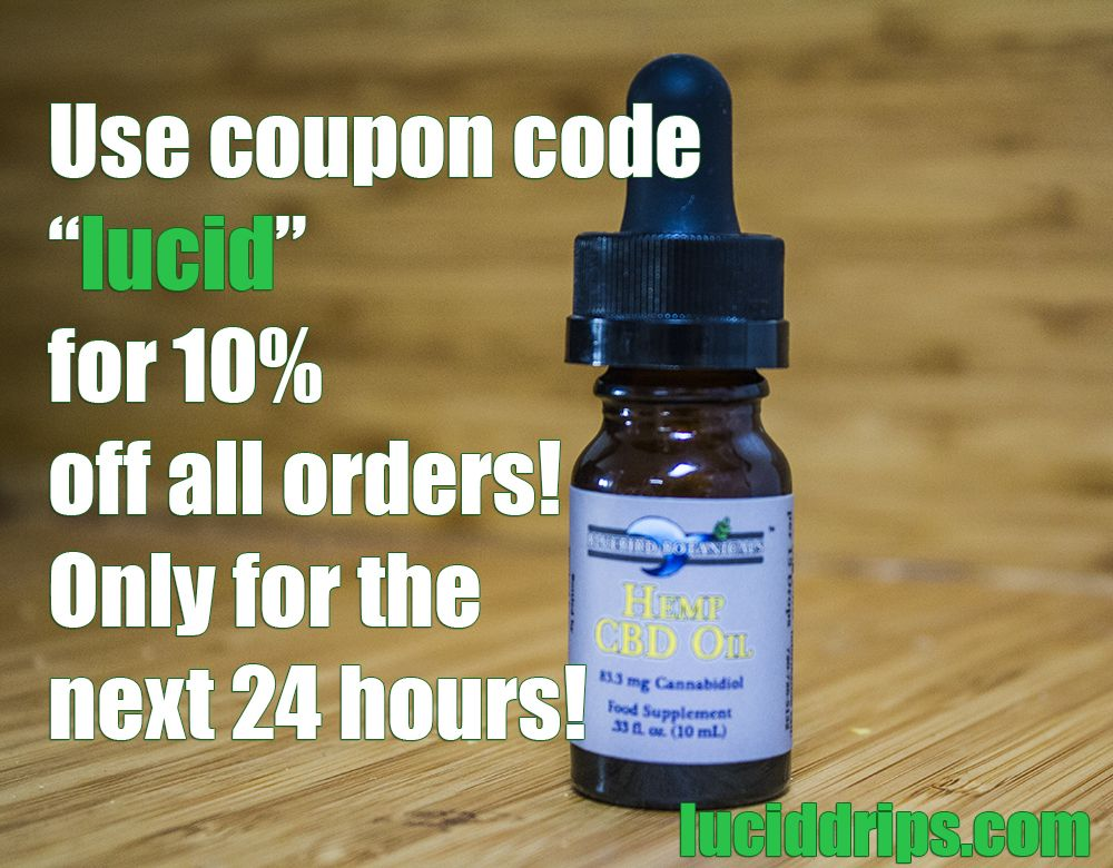 Use coupon code lucid for 10 off all our cbd oils luciddrips use coupon code lucid for 10 off all our cbd oils www fandeluxe