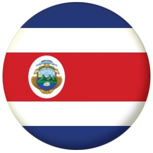 Costa Rica Country Flag Badge Magnet Keyring Mirror Bottle Opener