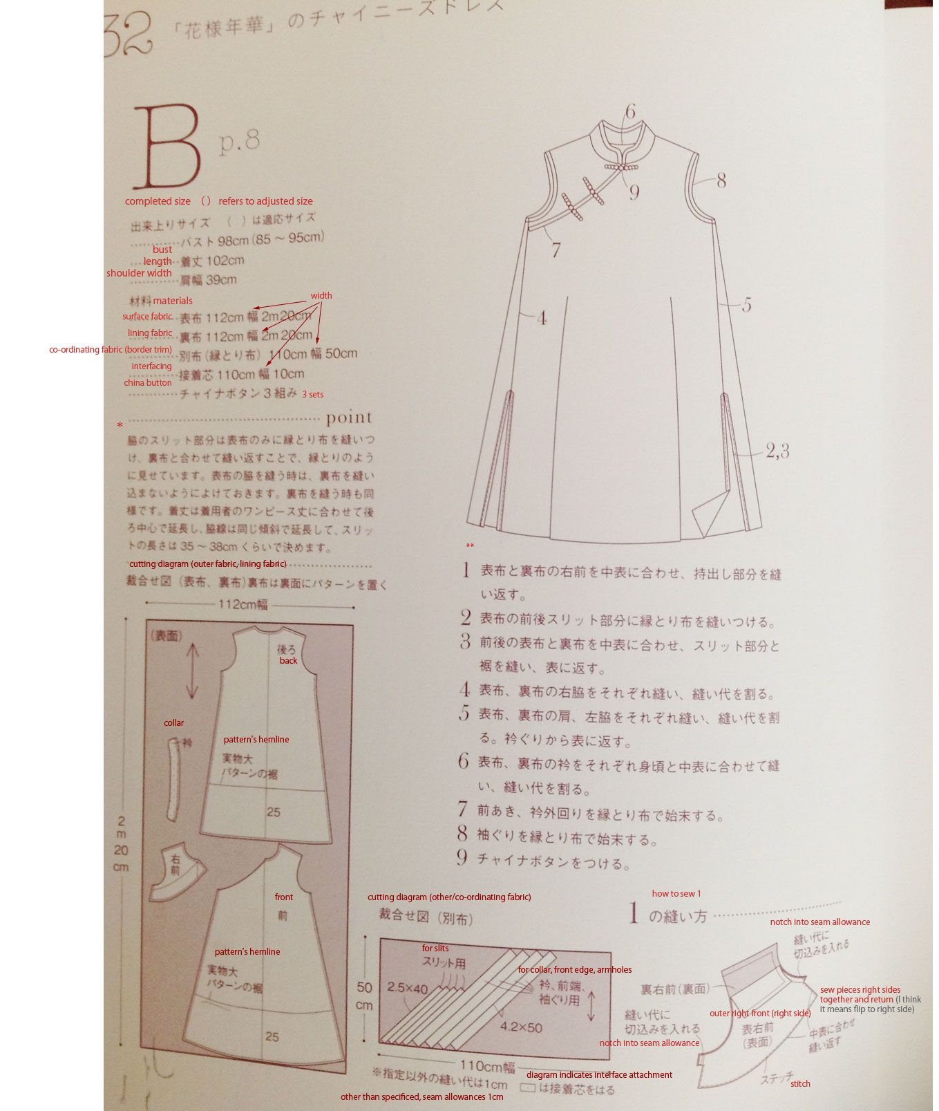 Pg32sm chinese party pinterest chinese party japanese translation question how to sew a cheongsam dress i would really like to make previous pattern i pinned and i hope this helps jeuxipadfo Image collections