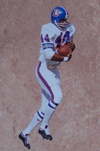Floyd Little Mini Fathead Denver Broncos Official Nfl