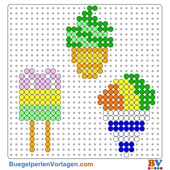 Diy Perler Beads 3d Ice Popsicle Watermelon 15