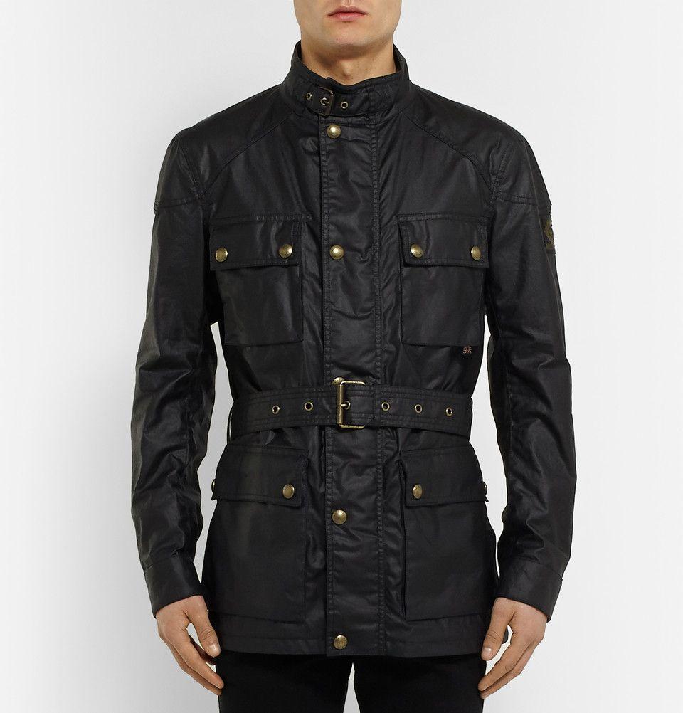 Belstaff - Roadmaster Waxed-Cotton Jacket|MR PORTER