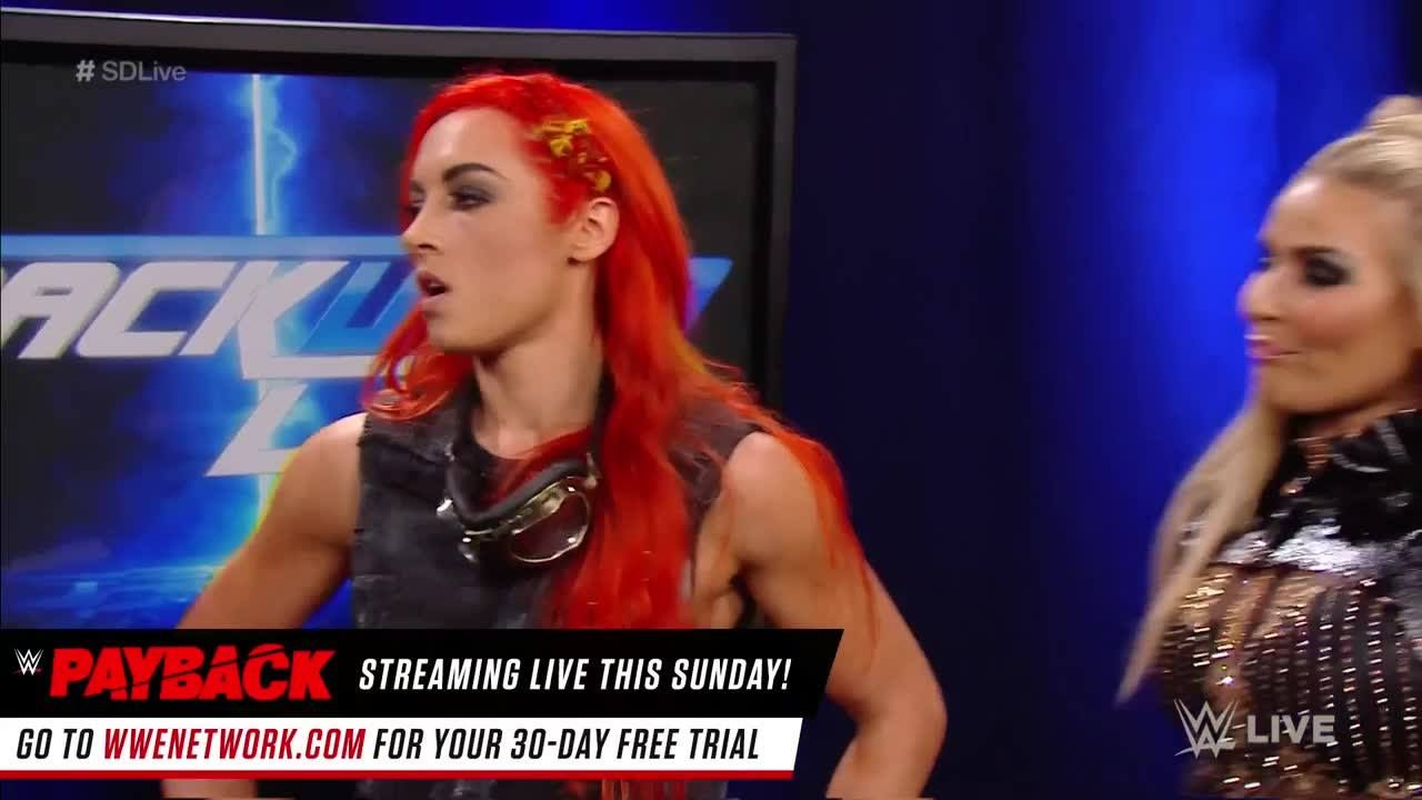Does Becky Lynch stand with the rest of the WWE SmackDown Live Women's division?