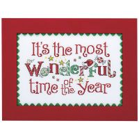 Wonderful Time of Year Counted Cross Stitch Kit