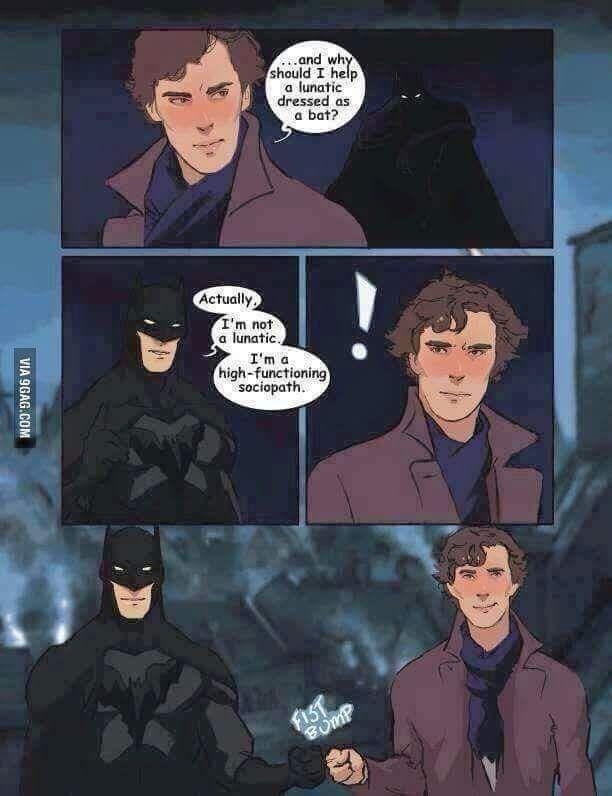 Batman = Sherlock.