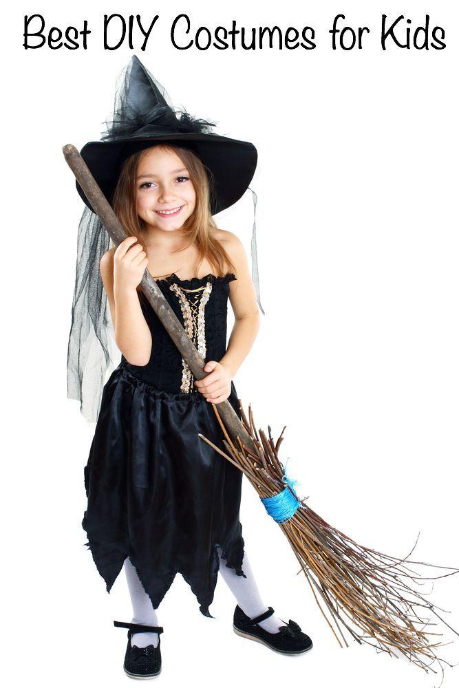 50 Easy DIY Halloween Costumes for Kids | Home-made Halloween ...