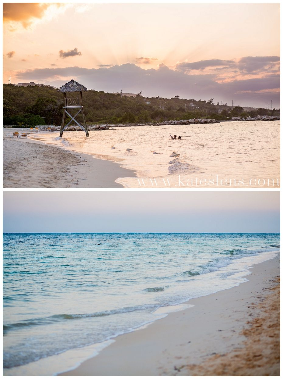 Sunset; Montego Bay Jamaica Destination Wedding at Iberostar Rose ...