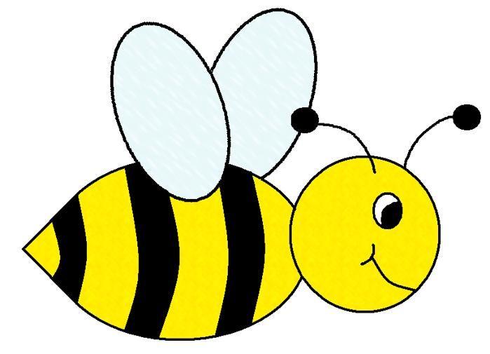 cute bee clipart free