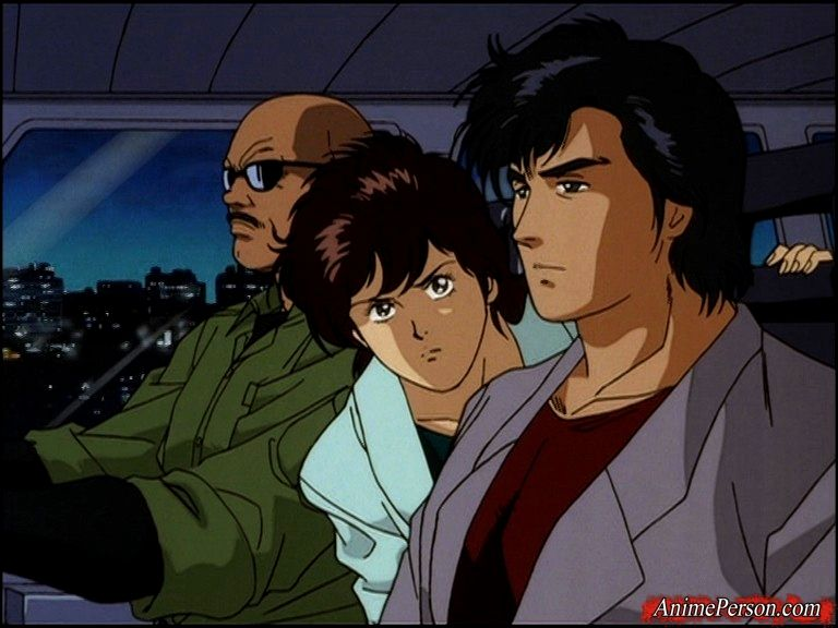 City Hunter The Secret Service Nicky larson, Dessin