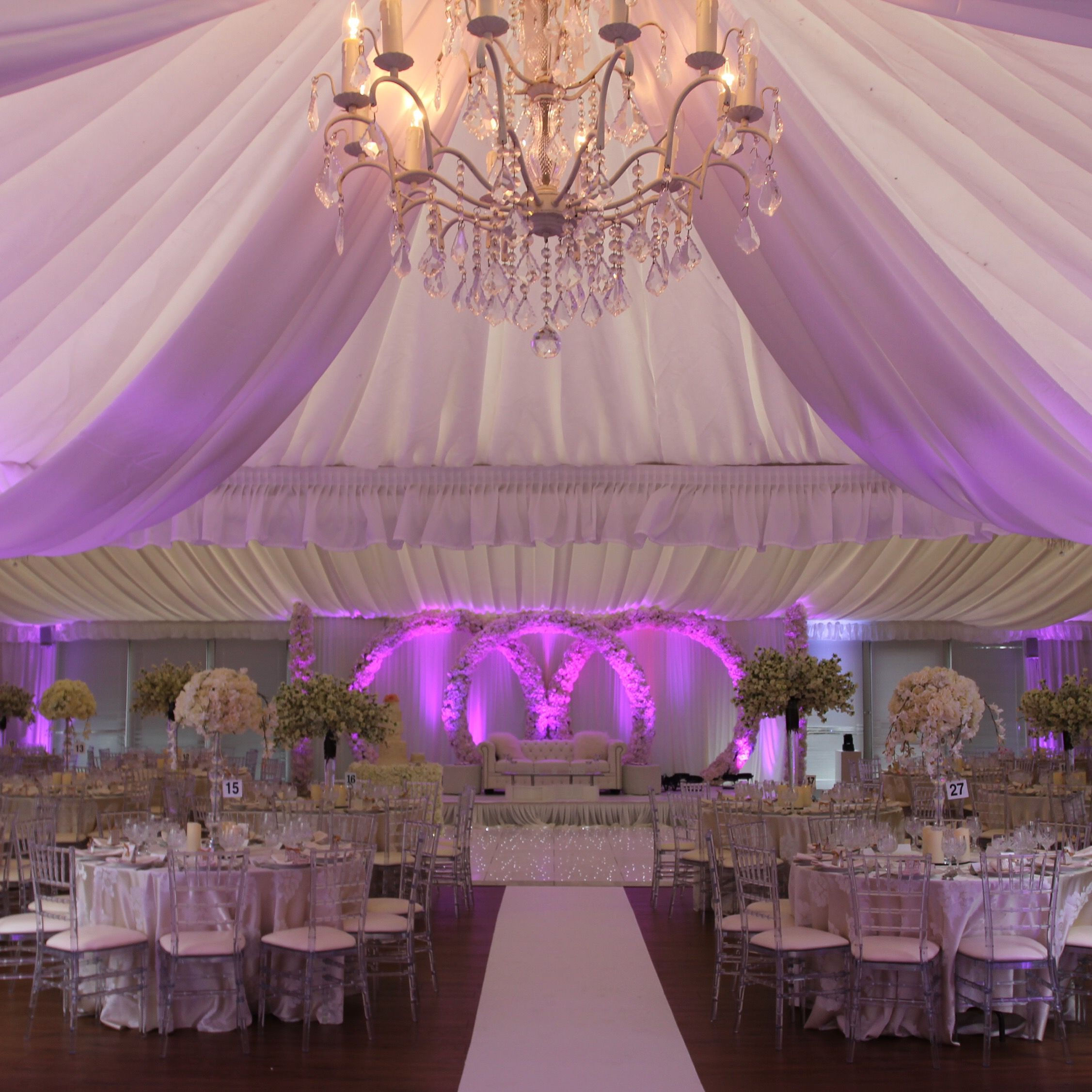 Nigerian Wedding In Our Stunning Pavilion Decoration By Royal Event