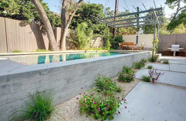 Portfolio Modern Landscape Concrete Swimming Pool