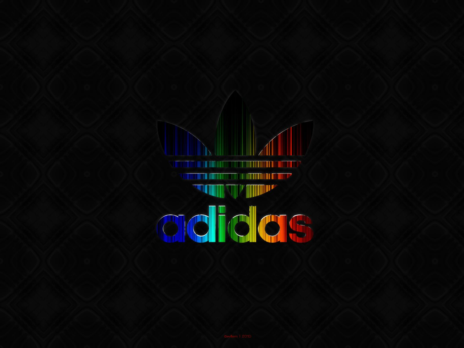 Adidas Wallpaper IZ13 | Colorful Logo Neon Iphone Soccer Tumblr Phone