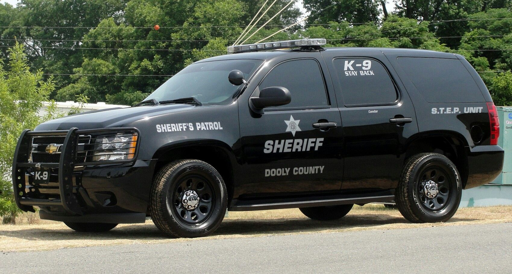 Dooly County (GA) Sheriff K-9 Sheriff's Patrol S T E P  Unit