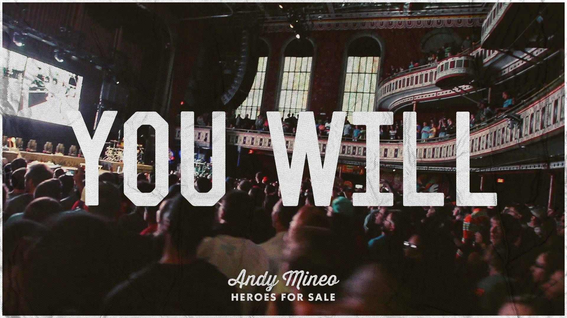 Andy Mineo You Will At Andy Mineo At Reach Records Tunes
