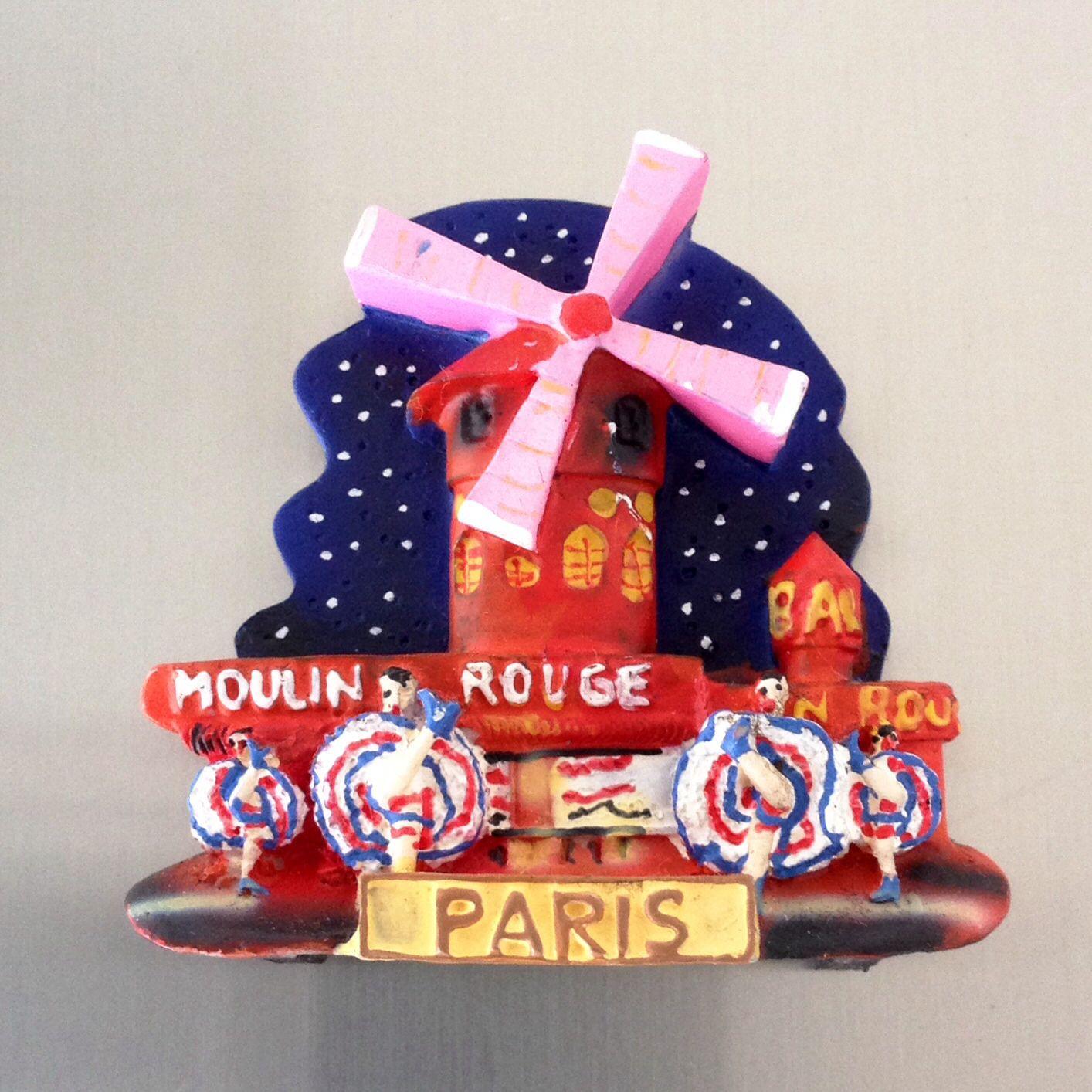 Moulin Rouge Paris Imanes Magneticos Imanes Imanes Nevera