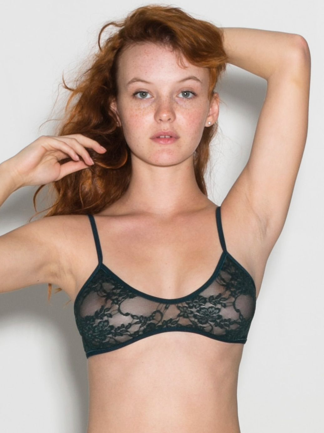 b94d0968c796e American Apparel - Stretch Floral Lace Bra