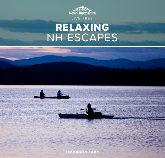 Summer in New Hampshire is pure bliss. If you're looking for relaxation from your summer vacation, click through to get inspiration and get planning!