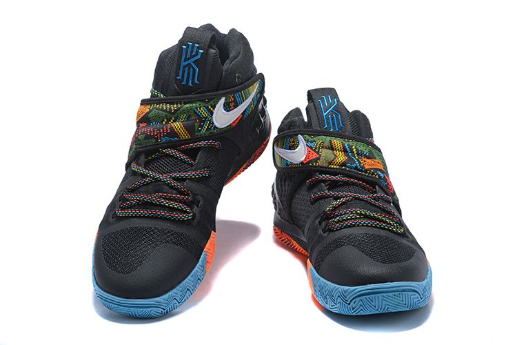 "aa3c569e5675 Nike Kyrie S1 Hybrid ""BHM"" Black Multi-Color For Sale"