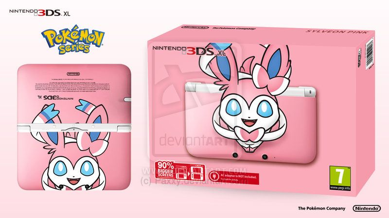 Pokemon PC Cover for 3DS LL (Sylveon)