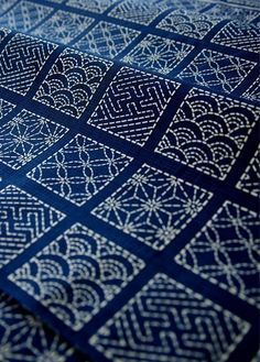 Get Patterns and Resources to Create Sashiko Japanese Embroidery #embroiderypatternsbeginner