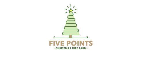 Christmas Logos 20 Outstanding Christmas Logos Christmas Tree Farm Tree Farms Christmas