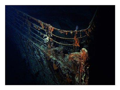 Titanic Wreckage Underwater | Tropical Decor | Titanic wreck, Real