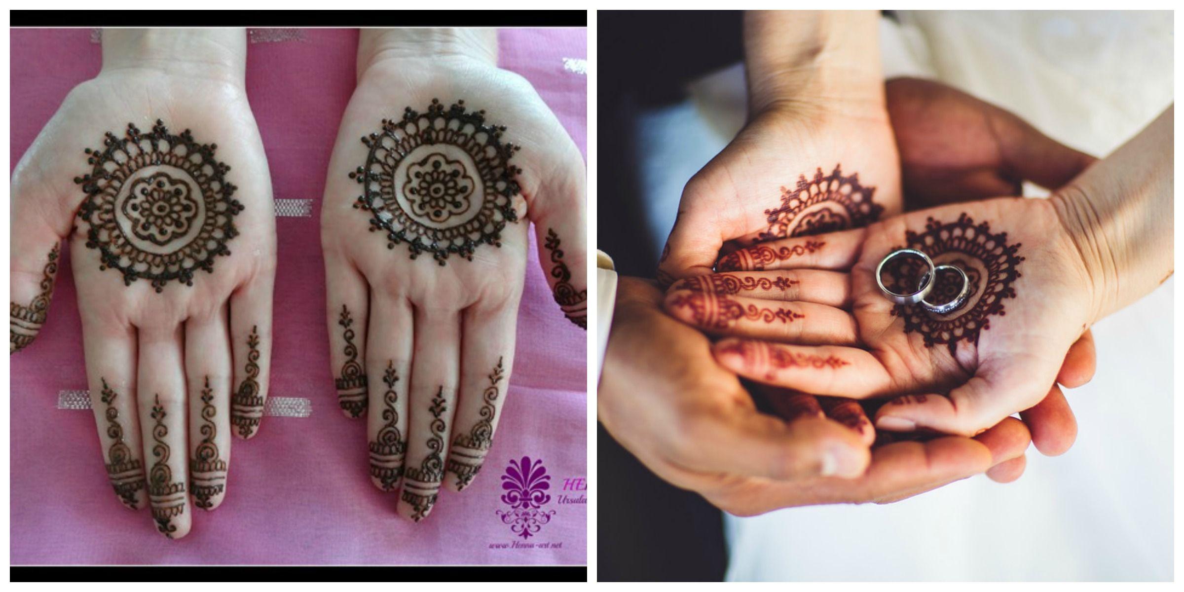 Henna Tattoo Kaufen Basel: Wedding Swiss / Maroccon, Henna In Mandala Style, Paste