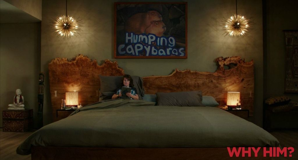 The Why Him House Iamnotastalker Alaskan King Bed Bedroom