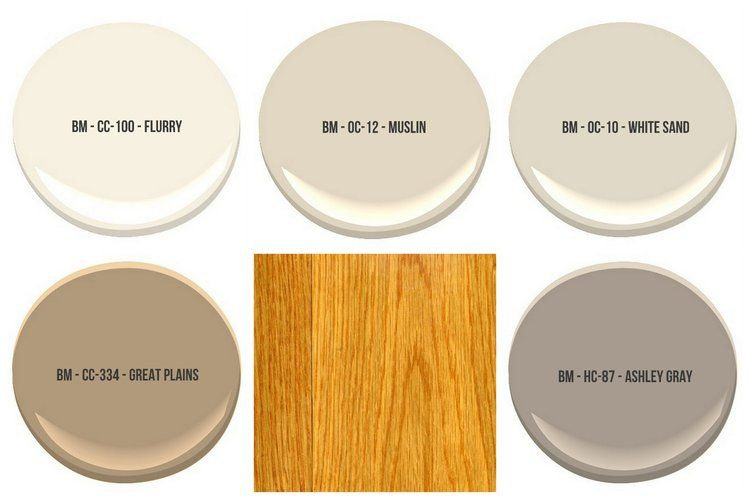 The Best Wall Paint Colors To Go With Honey Oak Floral