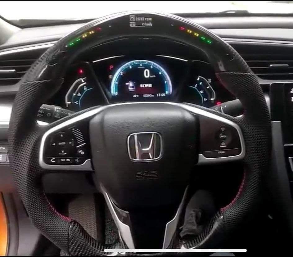 Led Steering Wheel For Honda Mobil Konsep Mobil