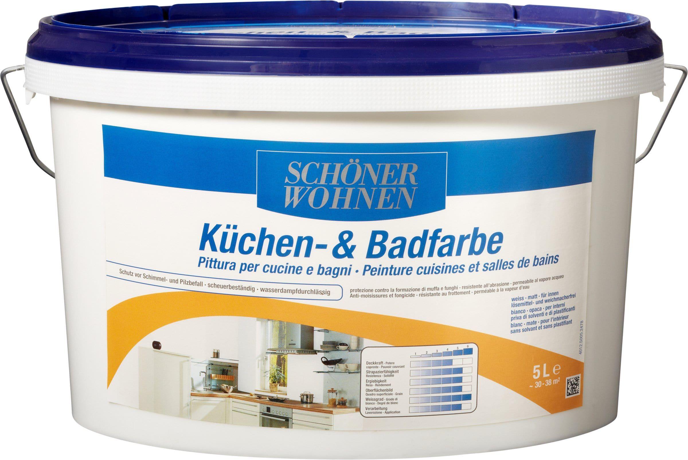 Schoener Wohnen Kuechen Und Badfarbe Weiss 50 L