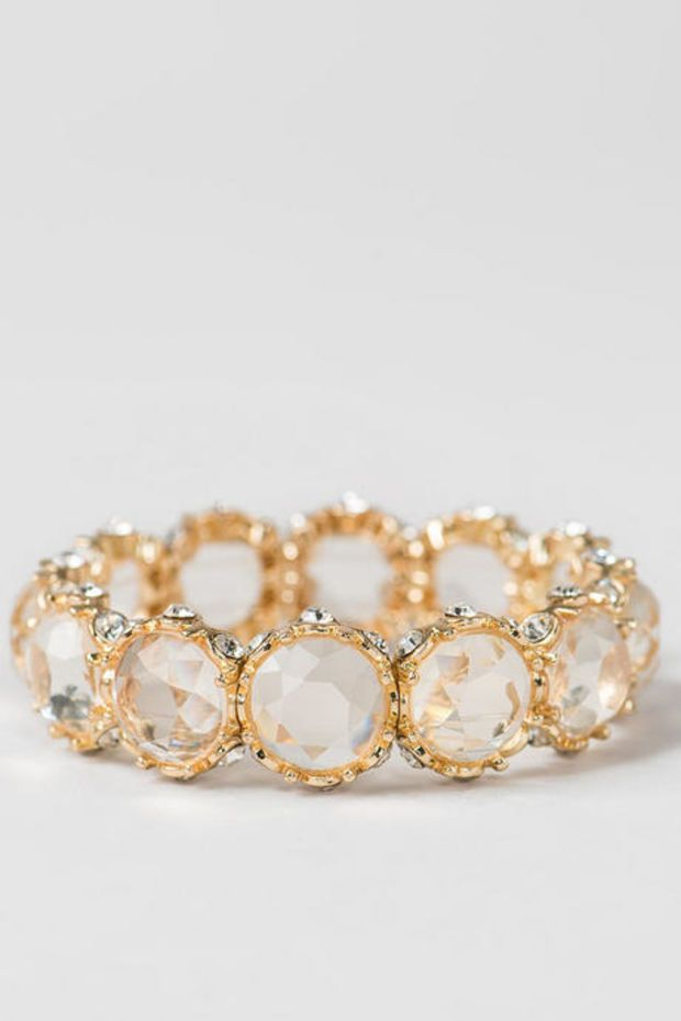 Jenny Jeweled Stretch Bracelet