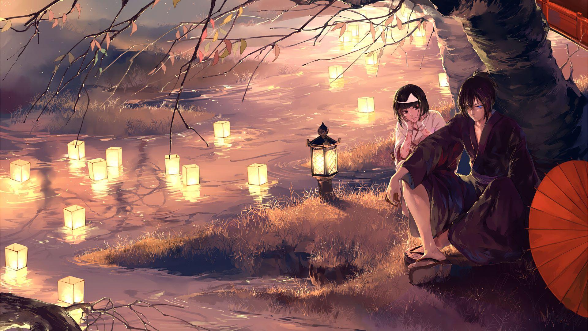 Free Anime Candle Lights Artwork Anime Computer Desktop Hd Wallpapers Anime Pictures Anime Images Yato Noragami Noragami Anime Anime Wallpaper