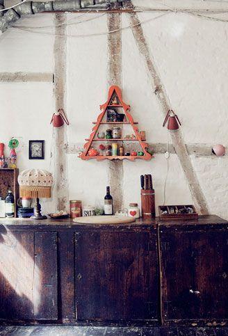 triangular shelf :D