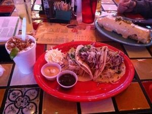 "Grilled Shrimp Tacos at ""Cabo Joe's"" – El Paso, Texas 