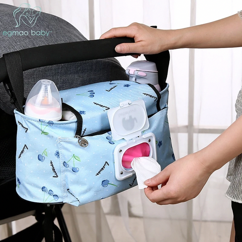 Baby Stroller Diaper Bags – Large Capacity Multi-Function Diaper Bag