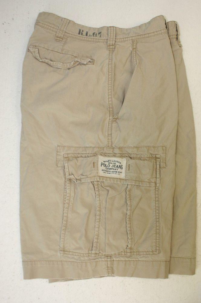 SOLD! Ralph Lauren Polo Jeans Co RL 1967 Tan Tactical Wear Cargo ...