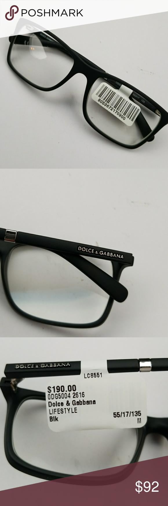 Dolce & Gabbana Black Frames | Pinterest | Prescription lenses ...