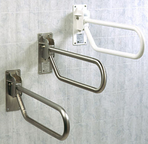 handicap bars for bathrooms toilets. handicap flip up down swing toilet safety grab bars offered by accessible environments for bathrooms toilets