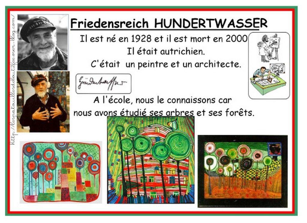 Gut bekannt à la manière de Hundertwasser | Les arbres, Maniere et Moyenne FU97