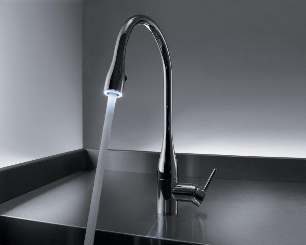 Led Light For Kitchen Faucet