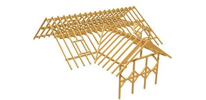 Dachstuhl Bauplan Holz bauplan, Gartenhaus selber bauen