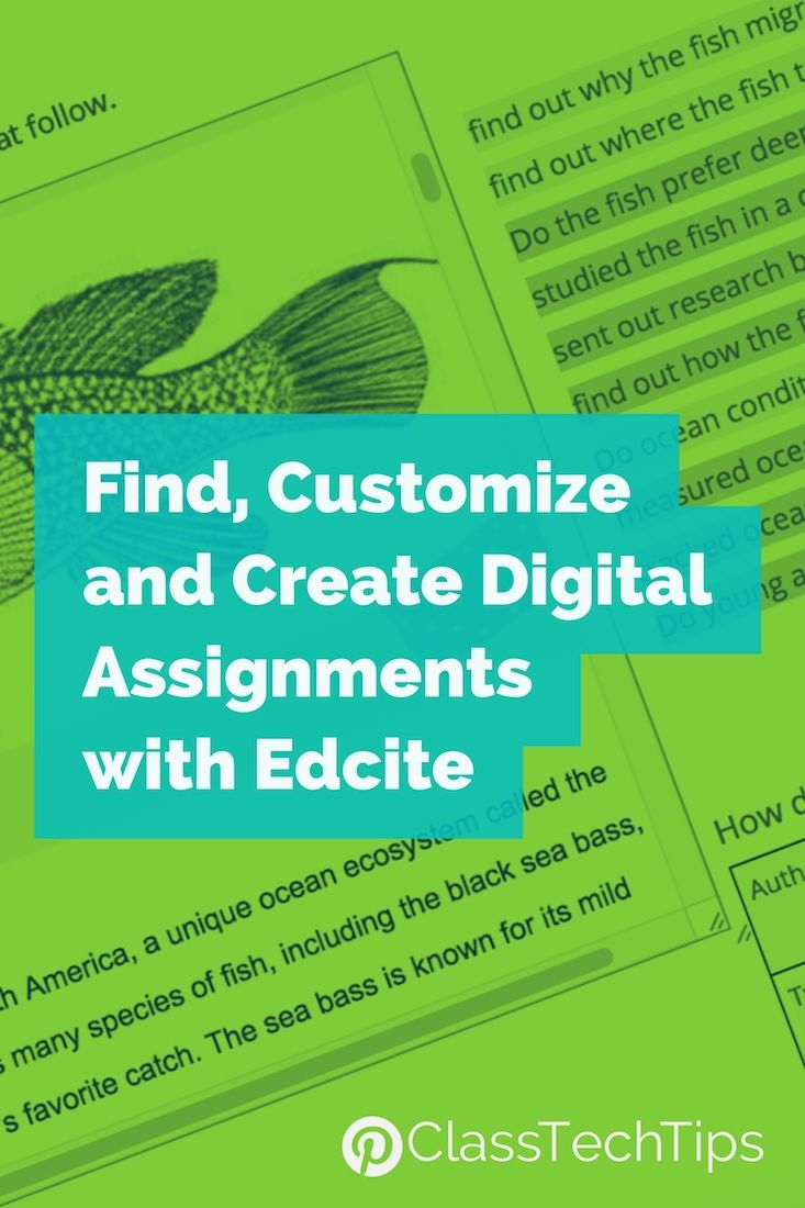 Find, Customize, and Create Digital Assignments with Edcite | Math ...