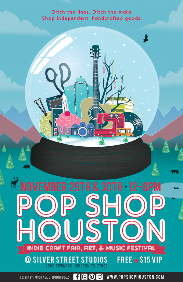 Popshop indie craft art and music fest poster pinterest popshop indie craft art and music fest solutioingenieria Images
