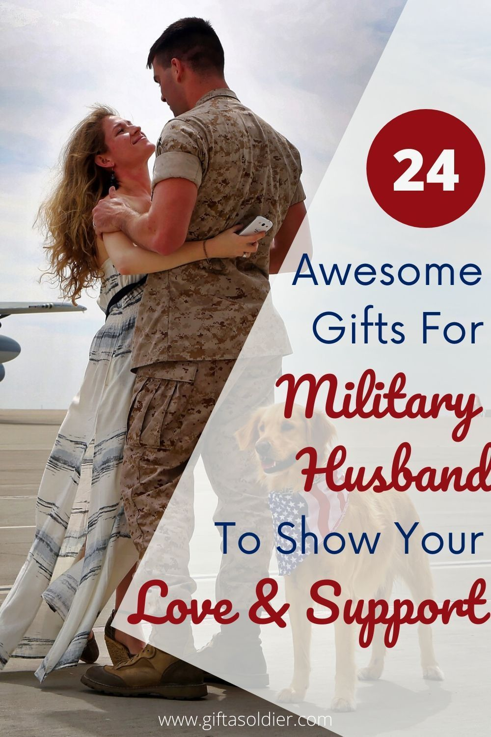 24 Best Gifts For Military Husband To Show Your Love and